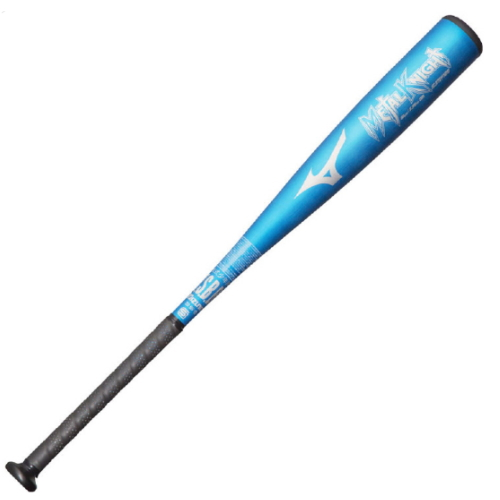 MIZUNO(ミズノ) 少年軟式野球バット 金属製 メタルナイト 80cm/550g 1CJMY12580