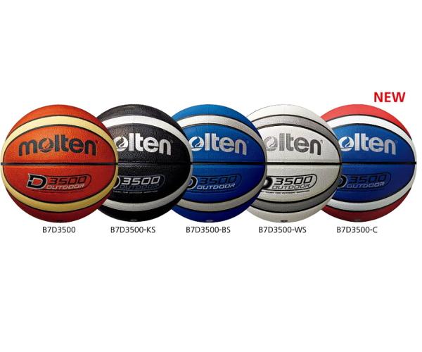 お取り寄せ対応 molten モルテン 発売モデル アウトドアバスケットボール7号球 新作 人気 B7D3500