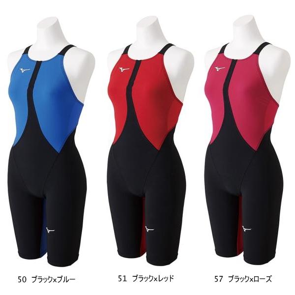MIZUNO(ミズノ) ウィメンズ競泳用スイムウエア MX・SONIC 02 ハーフスーツ[ジュニア N2MG8411