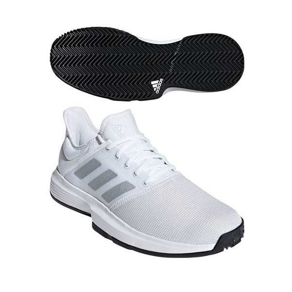 a2336c36a230c adidas (Adidas) men's tennis shoes GAMECOURT M (game coat M) CG6333 _ ...