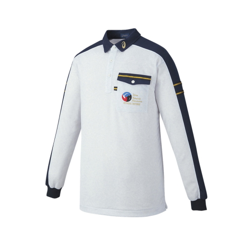 asics(アシックス) バレーボール レフリーシャツ(長袖) XW6315