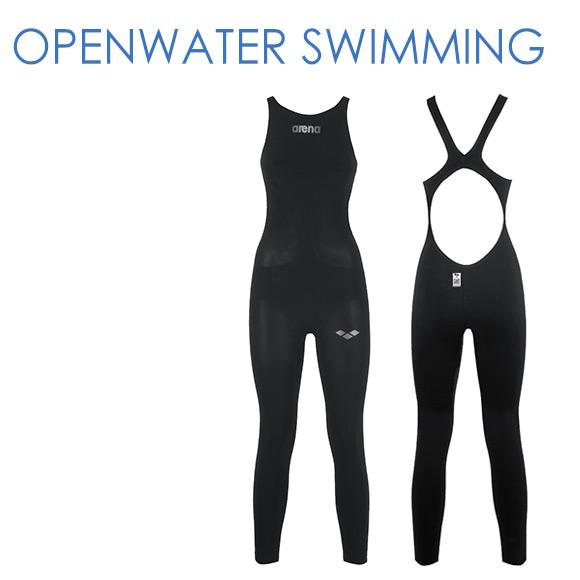 オープンウォータースイミング FAR-6507M アリーナ 競泳水着 レディース パワースキン カーボン Fina承認水着 ロングスパッツオープンバック arena 競技水着 水泳