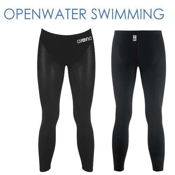 オープンウォータースイミング FAR-6509M アリーナ 競泳水着 メンズ パワースキン カーボン Fina承認水着 ロングスパッツ arena 競技水着 水泳