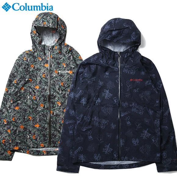 [今すぐ使える500円OFFクーポン!] ジャケット メンズ アウトドア コロンビア 防水 ライトクレストパターンド ジャケット PM5739