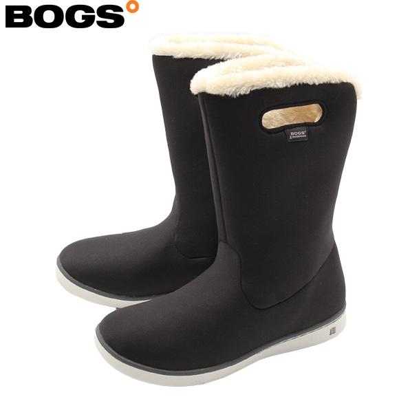 [今すぐ使える300円OFFクーポン!] スノー ブーツ レディース BOGS ウインターシューズ ミッドブーツMID BOOTS SOLID 78008/ブラック 取寄 ボグス