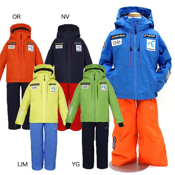 [500円OFFクーポン使えます!]フェニックス Phenix ジュニア スキーウェア 上下セット ノーウェイ チームキッズ ツーピース NORWAY TEAM KIDS 2PIECE PS7G22P70《セール》 スイム
