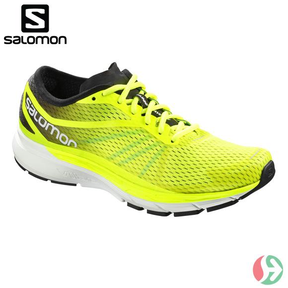 サロモン (Salomon) メンズ ランニングシューズ トレーニング レーシング FOOTWEAR SONIC RA PRO SAFETY YELLOW / BLACK / BLUE BIRD L40013800