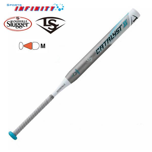 【送料無料】 Louisville Slugger(ルイスビル)! ソフトボールバット 『2号用ソフトボールバット カタリスト2TI』 <WTLJYS19M>