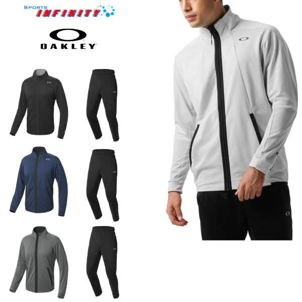 【30%OFF】【返品・交換不可】OAKLEY(オークリー)!『Enhance Technical Serge Jacket 1.7&Pants 1.7』スポーツウエア上下組 <434294JP-422500JP>