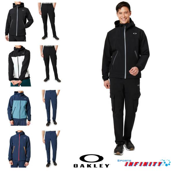 【30%OFF】【返品・交換不可】【送料無料対象外】OAKLEY(オークリー)!スポーツウエア 『Enhance Softshell Jacket&Softshell Pants』ウィンドブレーカー上下組<412854JP-422655JP>