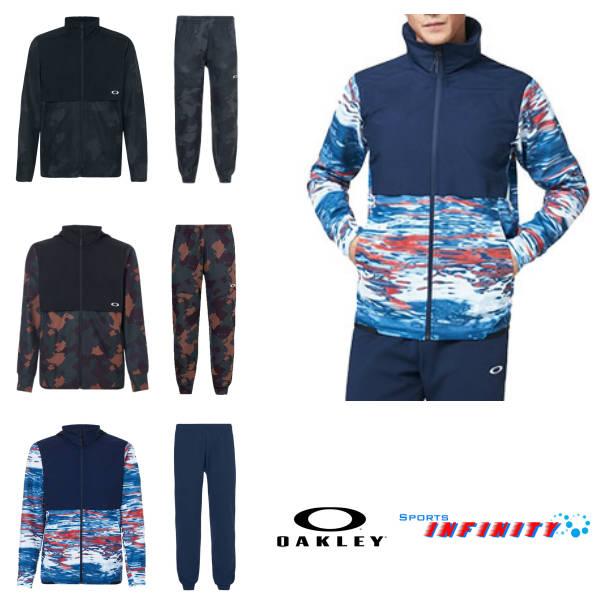 OAKLEY(オークリー)! ウィンドブレーカー上下組『Mobility hybrid Jacket&hybrid Pants』 <FOA400834-FOA400818>