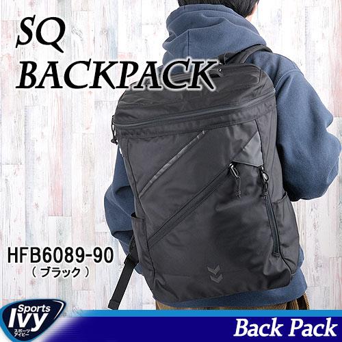 ポイント最大9倍!【~11/10まで!】hummel ヒュンメル SQ BACK PACK HFB6089-90