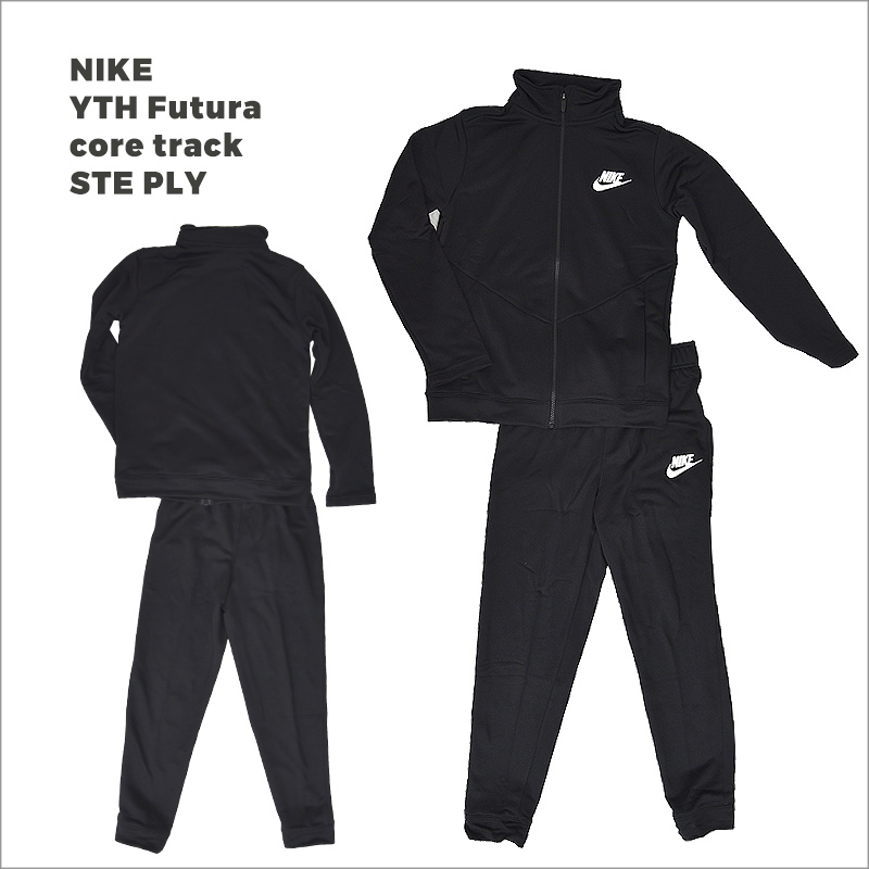 Nike B NSW Core TRK Ste Ply Futura Tracksuit midnight navy//Mountain blue//White unisex-child BV3617-410 Unisex Children