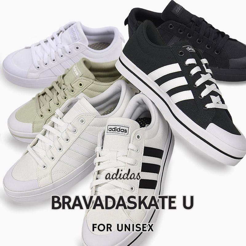 ローカット ホワイト グレー ブラック アディダス adidas スニーカー メンズ カジュアル シューズ BRAVADASKATE FV8090 未使用 FV8086 FW2883 FV8085 FW2882 U 靴 日本正規代理店品 FV8087