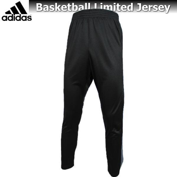 アディダス ジャージ パンツ メンズ トレーニングウェア バスケットボール S98866 ブラック×グレー adidas 限定 吸汗速乾 フルボタン ズボン パンツ 運動 ジム ランニング スポーツウェア ウエア バスケウェア 男性 大きいサイズ 180 人気 おすすめ