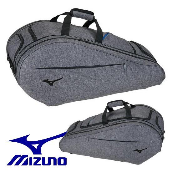 【MIZUNO-ミズノ】 ラケットバッグ 9本入れ用 約60L 【ラケットケース/テニス・ソフトテニス・バドミントンバッグ】