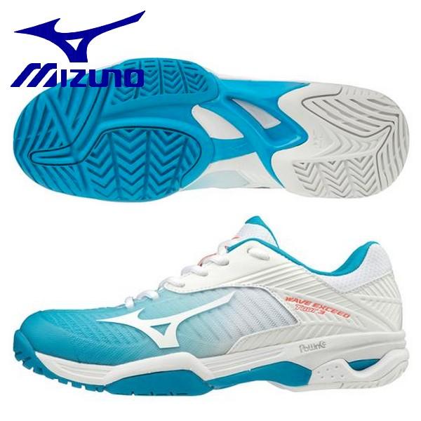 MIZUNO ミズノ レディース テニスシューズ ウエーブエクシードツアー 3 AC オールコート用 61GA187125