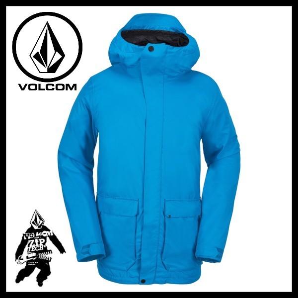 【激安SALE】 UTILITARIAN Jacket BLU 【VOLCOM-ボルコム】 17/18 スノーボードウェア/ジャケット/パンツ 【送料無料/SALE/セール】