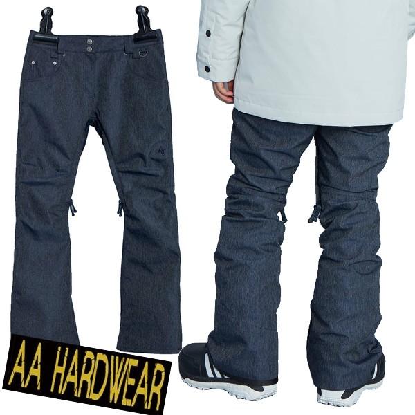 AA ダブルエー スノーボードウェア MID2 Pants Indigo 19/20 レディース
