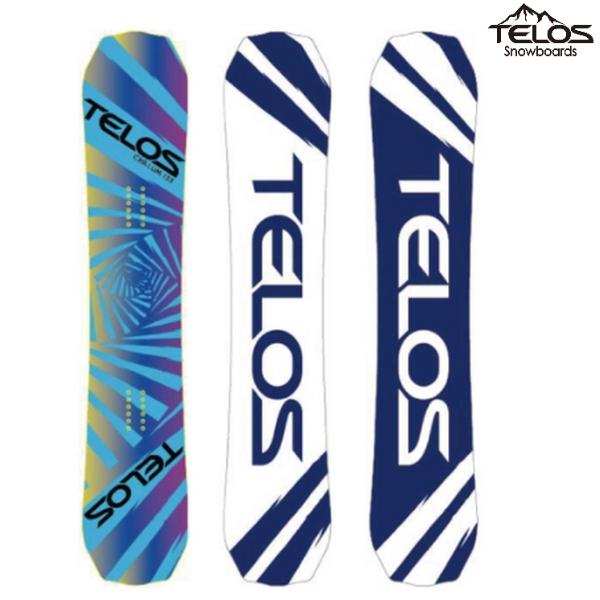 【TELOS-テロス】 CHILLUM TWIN FREESTYLE - チラムツイン フリースタイル BLUE 18/19 スノーボード/板 【送料無料/SALE/セール】