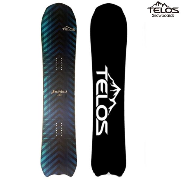 TELOS テロス スノーボード BACK SLASH CARVER バックスラッシュ カーバー BLUE 18/19 板