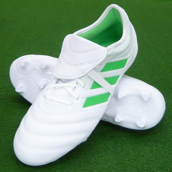 【即発送・あす楽対応】 コパ 19.2 FG/AG ランニングホワイト×ライム 【adidas-アディダス】 サッカースパイク/サッカーシューズ