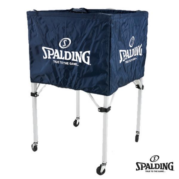 【SPALDING-スポルディング】 BALL CART-ボールカート/ボールケース/ボールカゴ 【バスケットグッズ/バスケ用品】