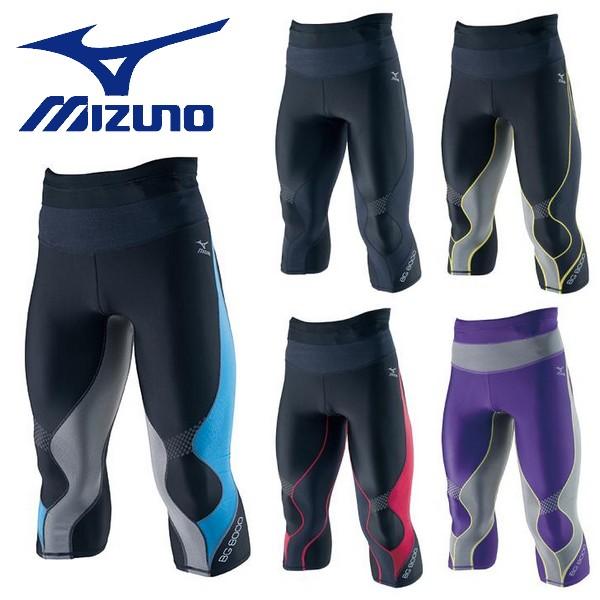 【MIZUNO-ミズノ】 メンズ バイオギア BG8000 セミロングタイツ 【スポーツウェア/インナースパッツ】