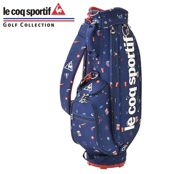 le coq sportif ルコックスポルティフ レディース キャディバッグ キャディーバッグ ゴルフ