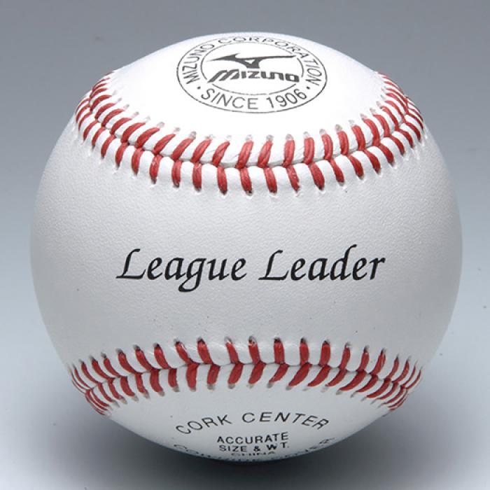 MIZUNO ミズノ 硬式野球ボール リーグリーダー 高校練習球 1ダース