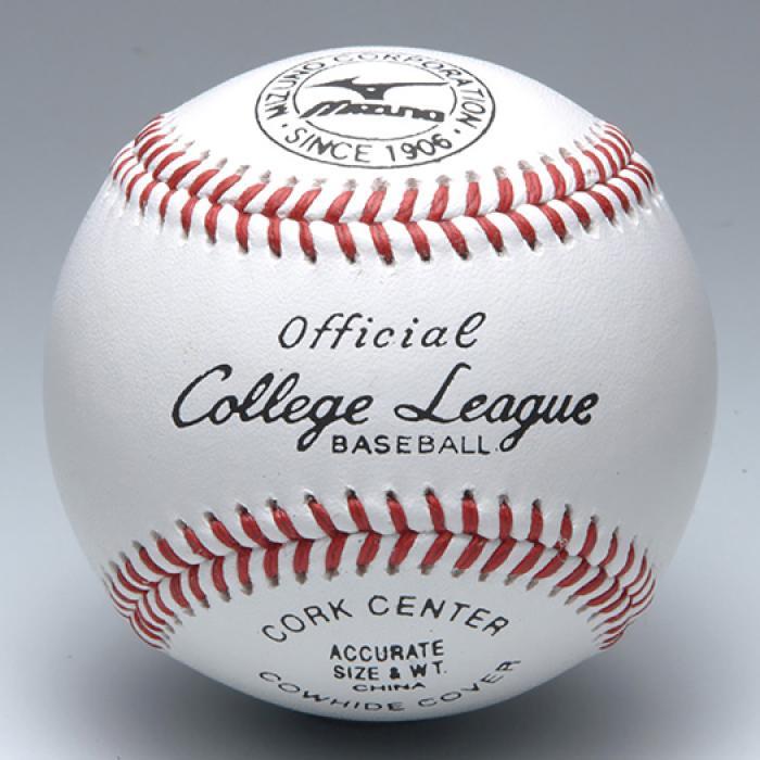 【MIZUNO-ミズノ】 硬式野球ボール カレッジリーグ 高校試合球 1ダース 【野球用品/野球用ボール】