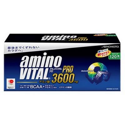 【スポーツで疲労した筋肉をケア!】 超お買い得 アミノバイタル プロ3600 1箱(120本入り) 【AJINOMOTO-味の素】 サプリメント/プロテイン