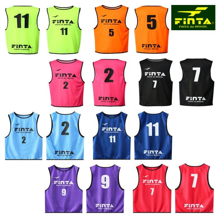 【FINTA-フィンタ】 番号付きビブス10枚セット 【サッカーウェア/フットサルウェア】