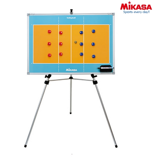 【MIKASA-ミカサ】 バレーボール 特大作戦盤/作戦ボード  (三脚・ケース付き) 【バレーボール用品/ボールケース】