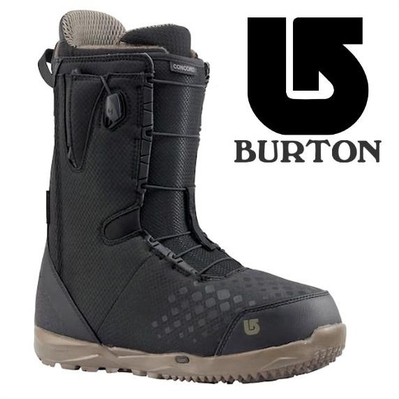 【激安SALE】 CONCORD Black 【BURTON-バートン】 17/18 スノーボードブーツ 【送料無料/SALE/セール】