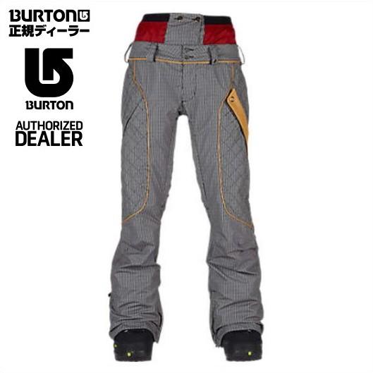 BURTON バートン ボードウェア レディース ZIPPY Pants Comes Around Goes Around 15/16 スノーボード