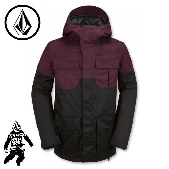 【激安SALE】 Alternate Jacket Burgundy 【VOLCOM-ボルコム】 15/16 スノーボードウェア/ジャケット/パンツ 【送料無料/SALE/セール】