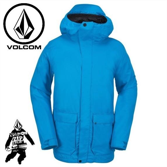 VOLCOM ボルコム スノーボードウェア UTILITARIAN Jacket BLU 17/18 メンズ