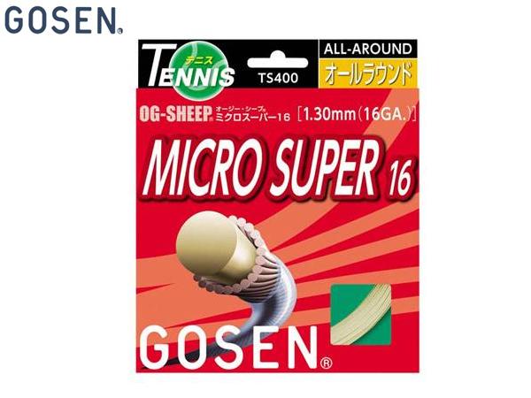 無料配達 【送料無料】ゴーセン:OGシープミクロスーパー16 20P テニス【GOSEN 硬式】 テニス 20P【GOSEN ガット 硬式】, Colors Pro:54cb5287 --- wedding-soramame.yutaka-na-jinsei.com