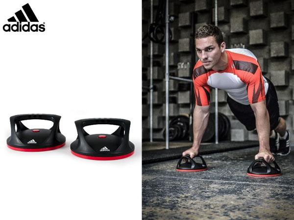 アディダス:【メンズ&レディース】スイベル プッシュアップ バー【adidas トレーニング 筋トレ 腕立て伏せ】【あす楽_土曜営業】【あす楽_日曜営業】
