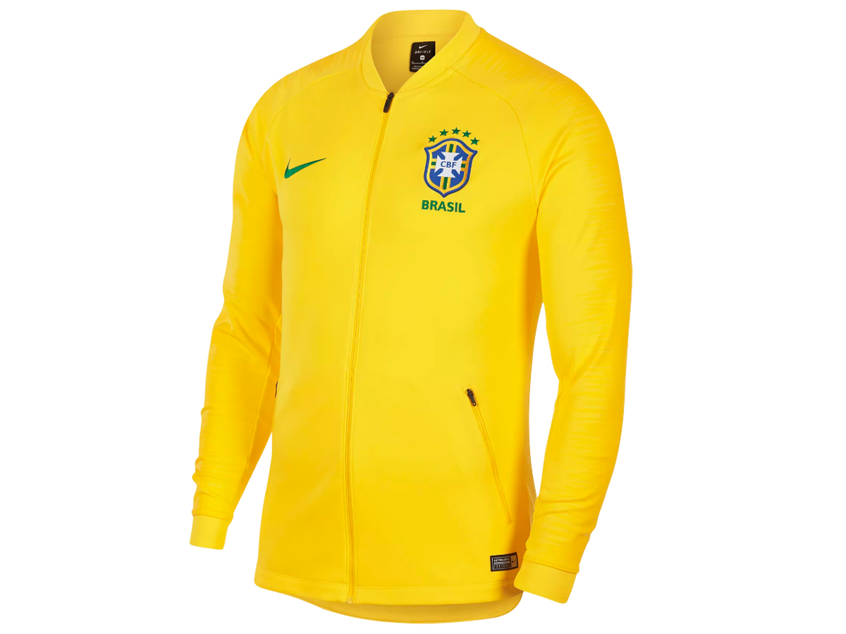 ナイキ:【US規格】ブラジル代表 アンセムジャケット【NIKE サッカー ウェア ジャケット】【あす楽_土曜営業】【あす楽_日曜営業】