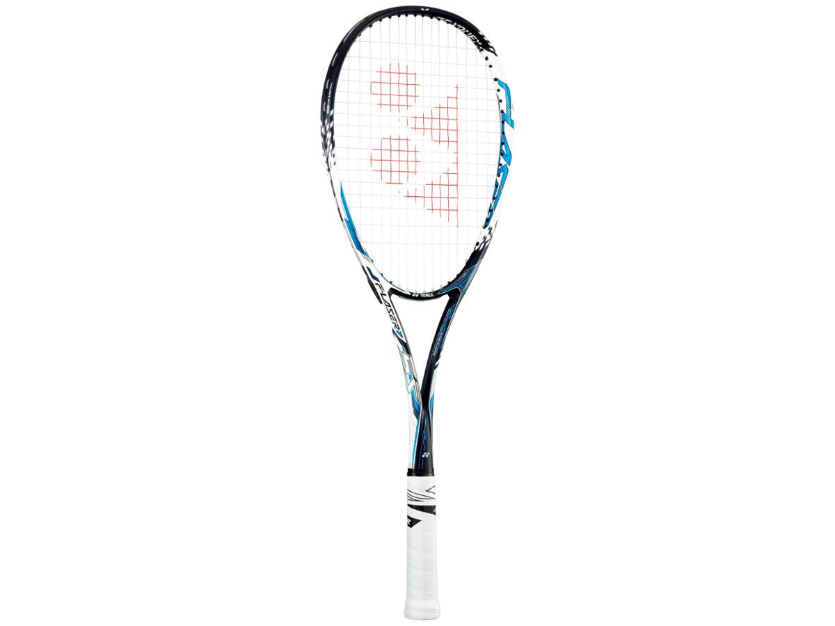 【送料無料】ヨネックス:【メンズ&レディース】【張り上げ無し】エフレーザー5S【YONEX F LASER ソフト テニス 軟式 ラケット】