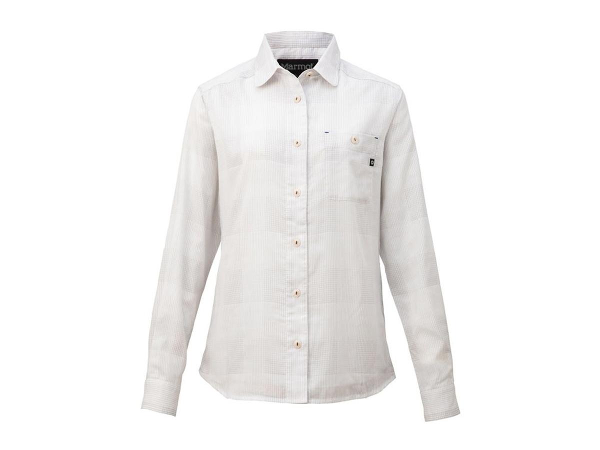 【送料無料】マーモット:【レディース】ダブルガーゼロングスリーブシャツ【Marmot Double Gauze L/S Shirt 長袖 シャツ】【あす楽_土曜営業】【あす楽_日曜営業】
