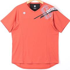 いつでも送料無料 デサント DESCENTE 半袖プラクティスシャツ DVWSJA50-OR 通販 レディース バレーボール