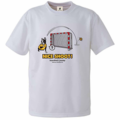 2020A 新品 送料無料 W新作送料無料 ハンドボールジャンキー Handball Junky Nice メンズウェア shoot HJ19001-1 DryTEE