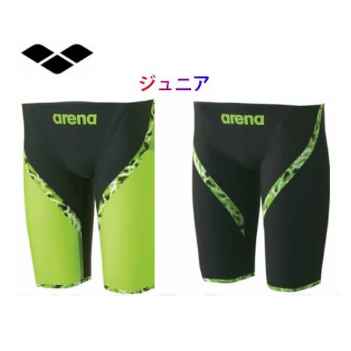 【送料無料】アリーナ ジュニア アクサフォースライトニング  パワータイプ ジュニアハーフスパッツ ARN6001MJ 競技用 水着 ジュニア 水泳 競泳 選手 部活 試合 日本製