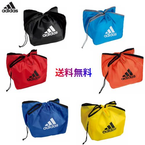 【送料無料 メール便発送】 アディダス adidas ボールバッグ 1個入れ  新型 ボール入れ サッカー 卒業記念品 記念品 景品 賞品 ABN01 ※この商品はメール便での発送となります
