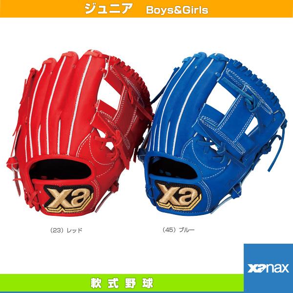 【軟式野球 グローブ ザナックス】 XANA POWER/ザナパワーシリーズ/軟式ジュニア用グラブ/オールラウンド・小(BJG-4016)