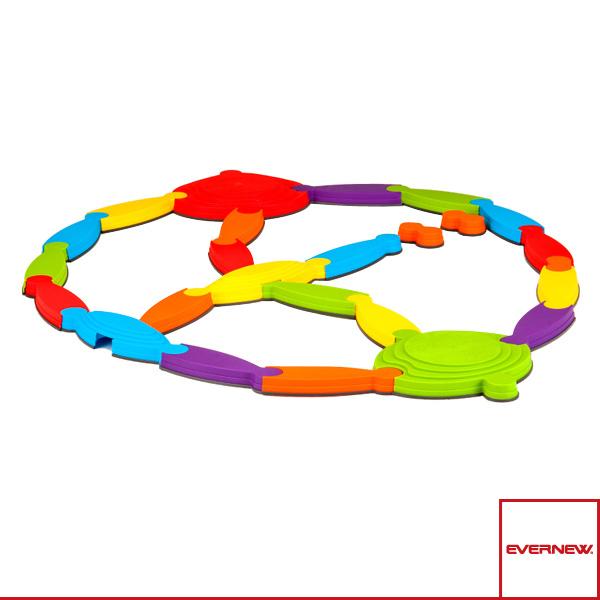 【ニュースポーツ・リクレエーション 設備・備品 エバニュー】[送料別途]リバーランドスケープ/リバー×3組・アイランドブリッジ×1組(EGN003)