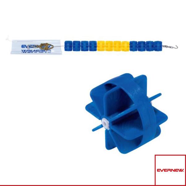 【水泳 設備・備品 エバニュー】 [送料別途]コースロープ H11025/25m(EHB344)